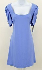 Juicy Couture Grapemist Gathered Sleeve Cover Up B303 Dress