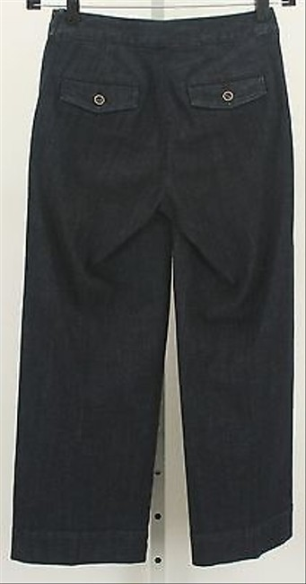 Heritage 1981 Heritage Wide Crop Sailor X 25 Dark Denim Capri B299 Capri/Cropped Denim