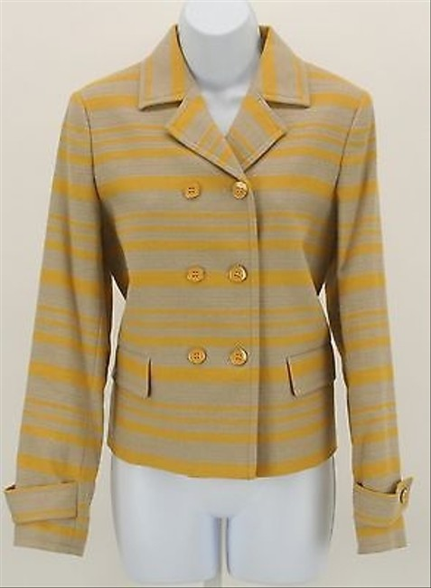 Preload https://item3.tradesy.com/images/talbots-talbots-tan-gold-striped-classic-double-breasted-blazer-b351-5820187-0-0.jpg?width=400&height=650