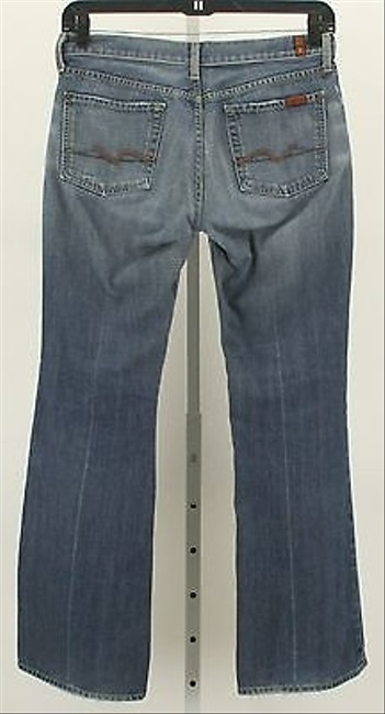 7 For All Mankind X Blue Denim Style B356 Flare Leg Jeans