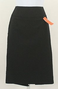 Mossimo Supply Co. Lined Pencil B357 Skirt Black