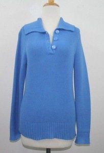 Charter Club Royal Shawl Collar Cotton Blend B49 Sweater