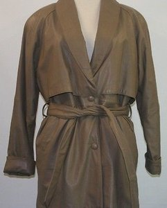 Wilsons Leather Wilsons Leather Belted Trench Thinsulate Lined Or Trench Coat