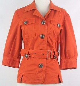 Caslon Pm Belted B147 Rust Jacket