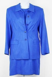 Nordstrom Nordstrom Jacket Dress Blue Dress Suit B242