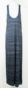 Blue Maxi Dress by Vince Navy Gray Striped Maxi B238