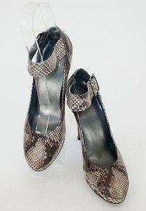 Stuart Weitzman Stewart 7m Brown Multi-Color Pumps