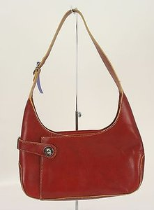 Wilsons Leather Yellow Silver Leather Front Pocket B314 Shoulder Bag