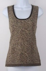Dana Buchman Classic Brown Top Multi-Color