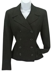 Finity Finity Studio Black Double Breasted Blazer B294