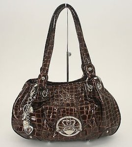 Kathy Van Zeeland Satchel in Brown