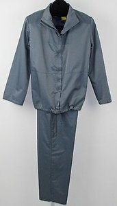 DKNY Dnky Ps Top 8p Pant Satin Finish Blue Pant Suit B204
