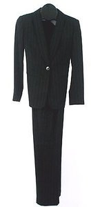 Jones New York Jones York 2p Black White Red Pinstripe Pant Suit B204