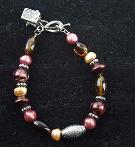 Bead And Charm 6 Bracelet Bj1