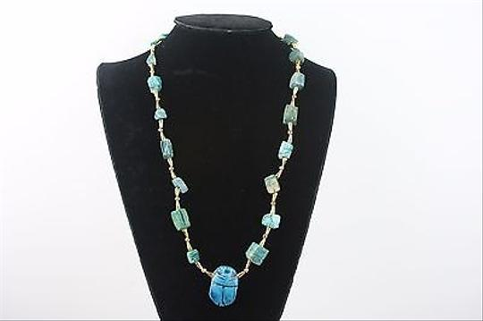 Preload https://item5.tradesy.com/images/other-turquoise-gold-tone-24-necklace-bj1-5823739-0-0.jpg?width=440&height=440