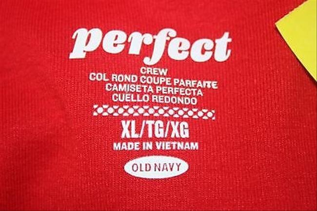 Perfect Details Long Sleeve Scoop Neck B198 T Shirt Red