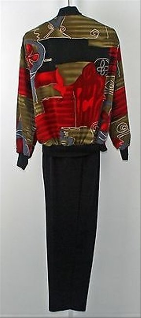 Other Cascais Top Oversize Pant Black Red Green Grey Sporty Pant Suit B204