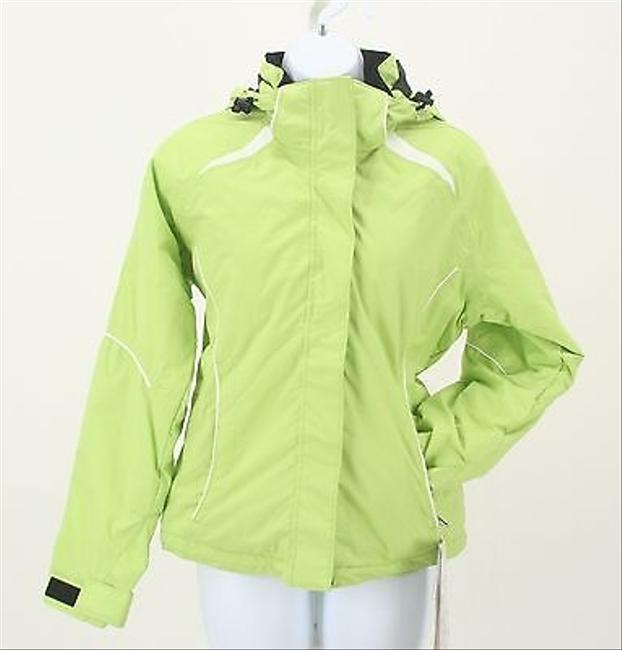 Obermeyer Mala Lime Black Thick Waterproof Jacket B268 Coat