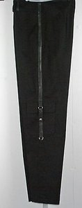 Other Vex Waist 28 Inseam 28 Faux Detail Capri B214 Cargo Pants Black