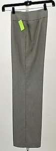Jones New York Platinum Stretch X Black White Trouser B264 Pants