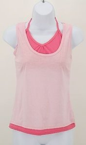 Banana Split Light Dark Top Pink