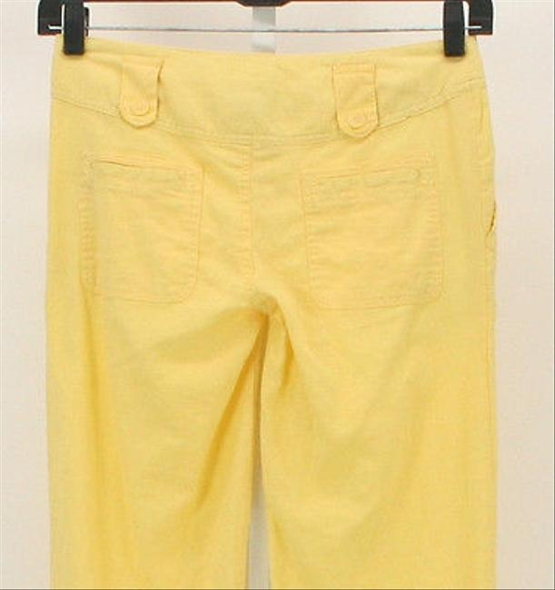 Max Rave X Thin Linen B336 Relaxed Pants Yellow