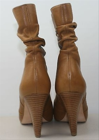 Via Spiga Soft Camel Slouch Bbb Boots