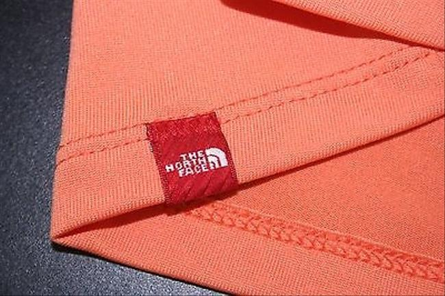 The North Face The North Face Orange Top With Built-in Bra B270