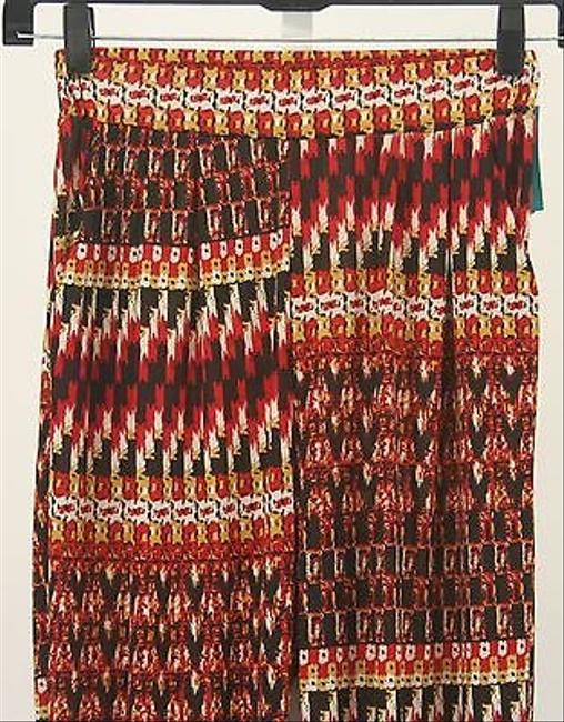 Chandly X Red Black Yellow White Stretchy Trouser B265 Pants