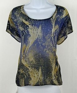 Ecote Navy Gray Yellow Cold Top Multi-Color