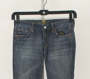 7 For All Mankind 27 X 21 705443 Denim Capri B289 Capri/Cropped Denim