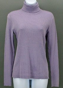 Chico's 0 Lavender Long Sleeve Turtleneck B288 Top Purple
