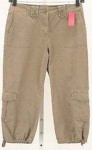 Charter Club Capri Length X 21 Light B342 Cargo Pants Brown