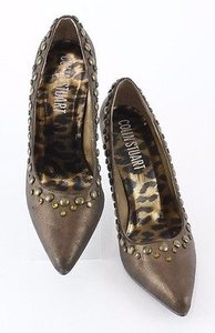 Colin Stuart Metallic Bronze Pumps