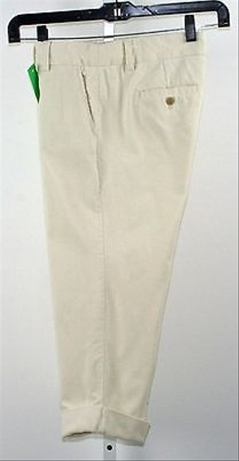 J.Crew City Fit Cuffed Corduroy Capri B233 Capri/Cropped Pants Cream