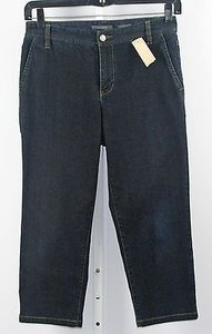 Liz Claiborne Slim Inseam Capri B233 Capri/Cropped Pants Denim