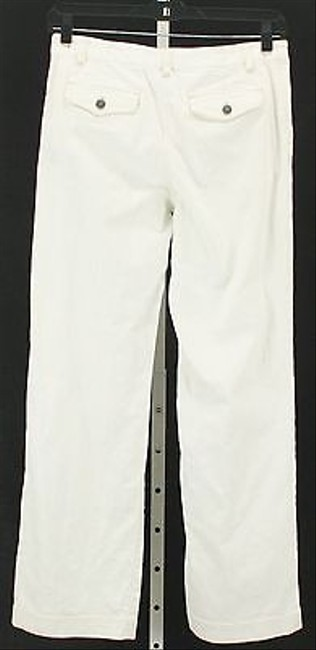 Other City White Tan Stitch Pocket Womens B334 Boot Cut Jeans