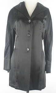 Other Soap Studio Elegant Satin Evening Mid Length Jacket B60 Coat
