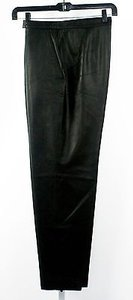 Jones New York 14w 319 Leather Flat Front Side Pocket B236 Pants