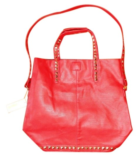 Other Studded Tote in Red