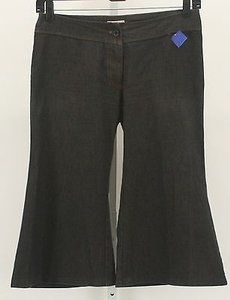 Other Andreana Navy Orange Capri B296 Capri/Cropped Pants Multi-Color