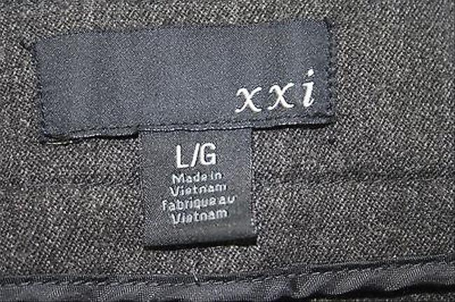 Other Xxi Charcoal Trouser B160 Pants