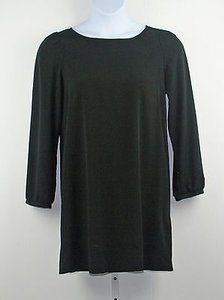Other short dress Bridette Bailey Black Scoop Neck Long Sleeve Tunic B189 on Tradesy