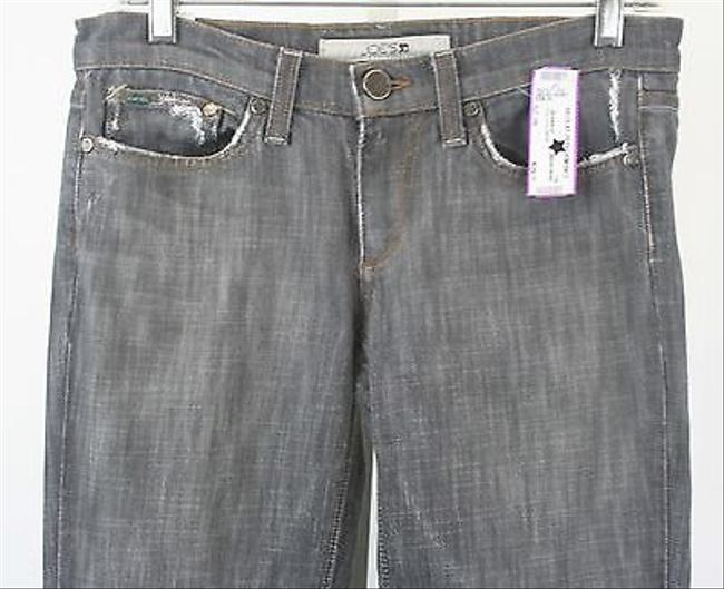 JOE'S Jeans Joes X 35 Grey With Frayed Cuffs B226 Boot Cut Jeans