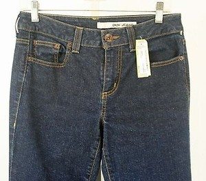 DKNY Dnky 6s X 30 Dark Denim B231 Boot Cut Jeans