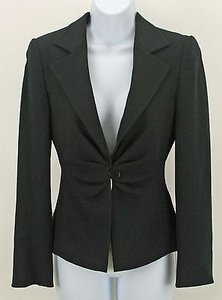 Armani Collezioni Armani Collezioni Midnight Gathered 1 Button Wool Blazer B296