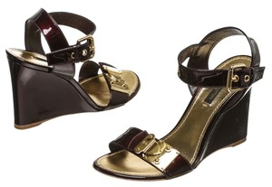 Louis Vuitton Amarante Wedges