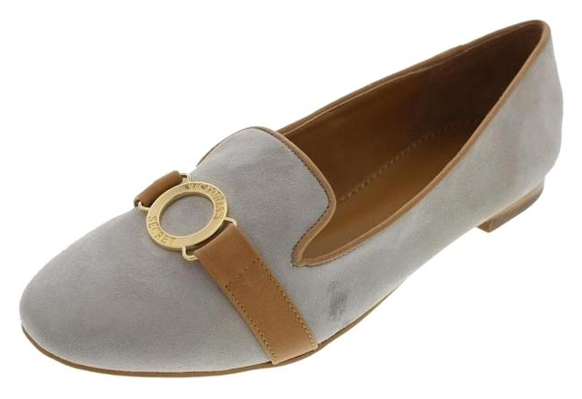 Item - Gray New Logo Suede Loafers Flats Size US 8