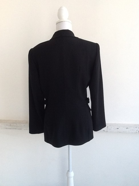 Paniz Gaberdine Invisible Zipper. Multi-purpose. Simple Elegance. Black Jacket