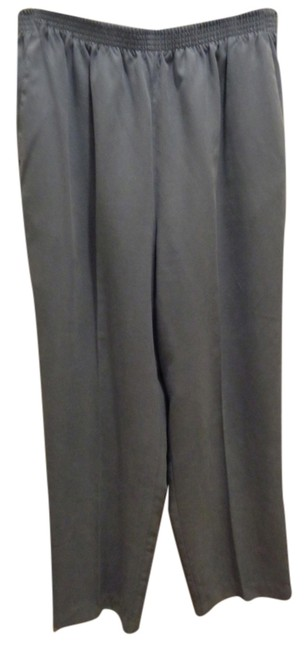 Alfred Dunner Straight Pants soft blue